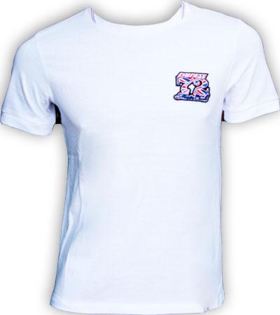 T-shirt Dainese Donington EVO S/S bianca
