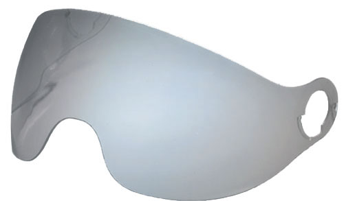 Nolan N20 blue mirror visor for helmets sized XXS-M
