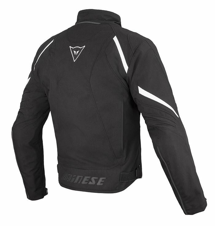 Giacca moto Dainese Laguna Seca D-Dry nero bianco