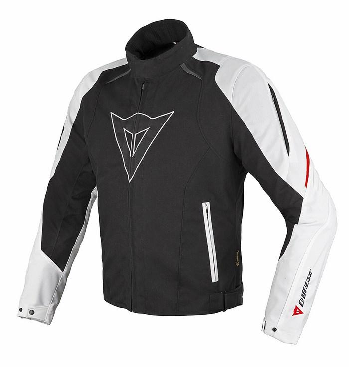 Dainese Laguna Seca D-Dry jacket black-white red