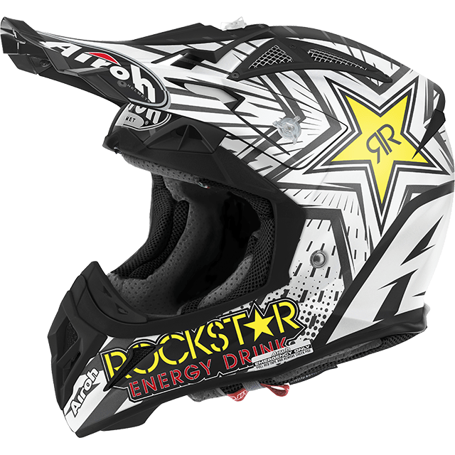 Casco cross Airoh Aviator 2.2 Rockstar 2016 opaco