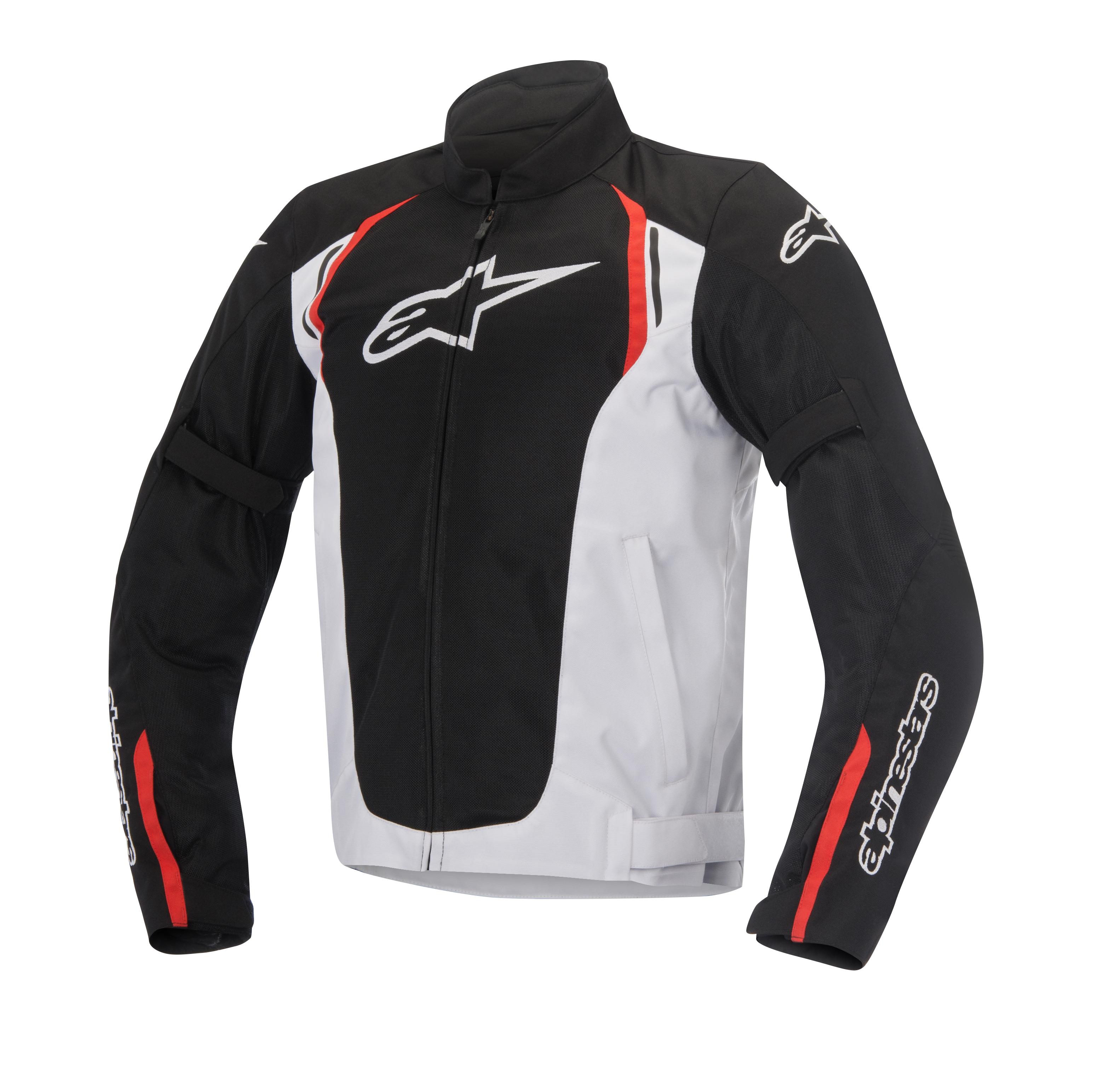 Giacca moto Alpinestars Ast Air TX nero bianco rosso