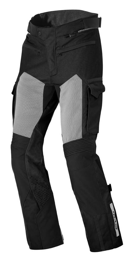 Pantaloni moto Rev'it Cayenne Pro Nero Allungato