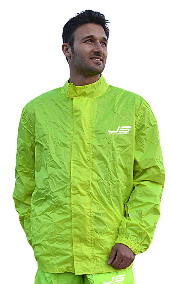 Juliet fluorescent yellow rain jacket Jollisport