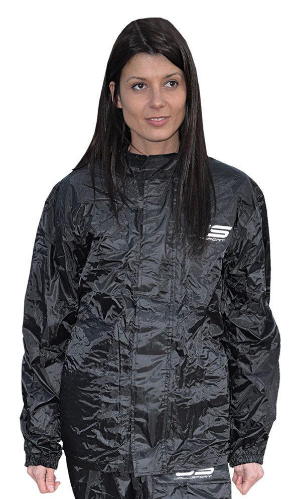 Rain jacket black Jollisport Juliet