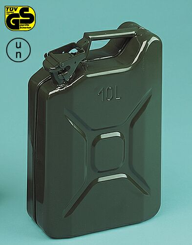 Military metal jerry-can 10 litres Lampa