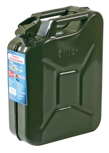 Military metal jerry-can 5 litres Lampa