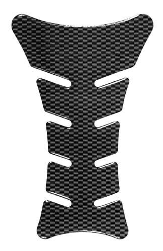 Protezione adesiva per serbatoio Tech carbon look Lampa