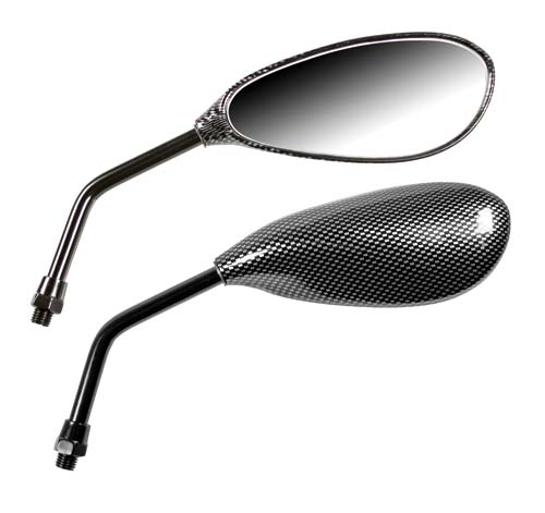 Naked mirrors carbon look Lampa