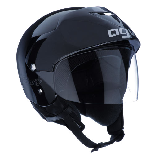 Casco moto Agv Bali Mono nero lucido
