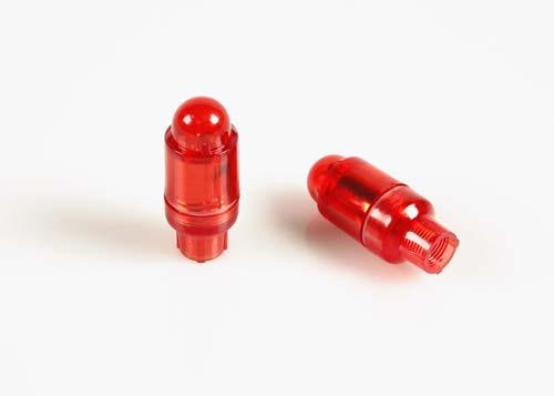 Tappi coprivalvola con led - rosso