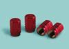 Tappo coprivalvola Sport-Cap Hexagonal - rosso