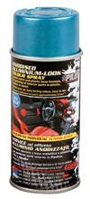 Vernice spray effetto alluminio anodizzato - Blu
