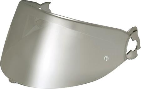 Visiera per Nolan N100E argento metalizzato