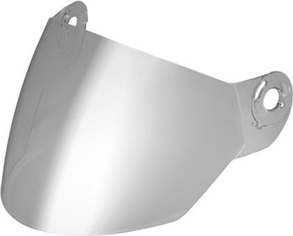 Visiera per Nolan N42E argento metalizzato
