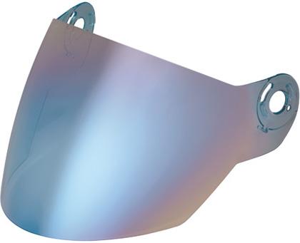 Nolan N42E blue metal visor