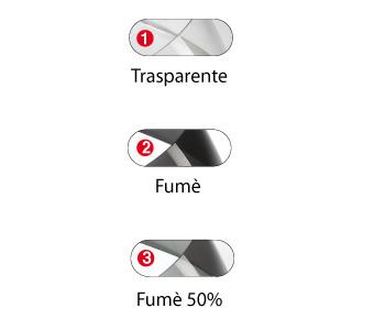 Visiera fumè 50 % per casco Airoh S4