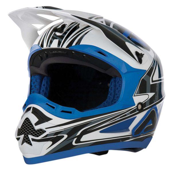 Motocross helmet Acerbis Basic Blue