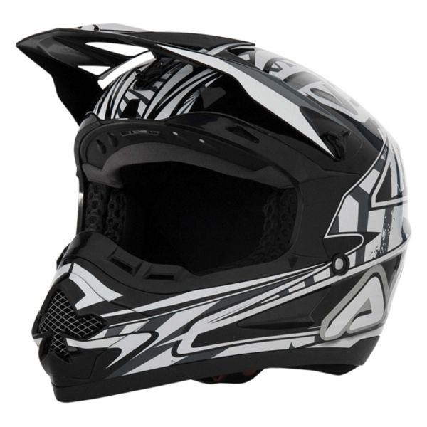 Casco motocross Acerbis Basic Nero