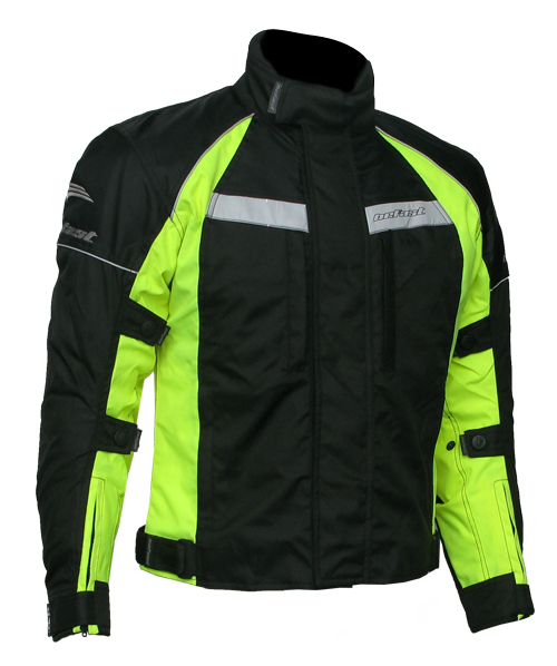 Befast New Cruizer WP Textile Jacket col. Yellow fluo