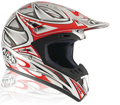 x Airoh Cross Helmet Runner Red
