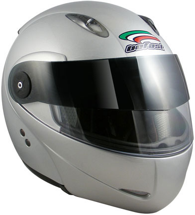 BEFAST Modulo Flip-Up Helmet - Col. Silver