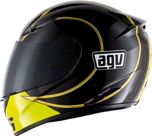 Casco moto Agv K-3 Top Gothic 46 nero