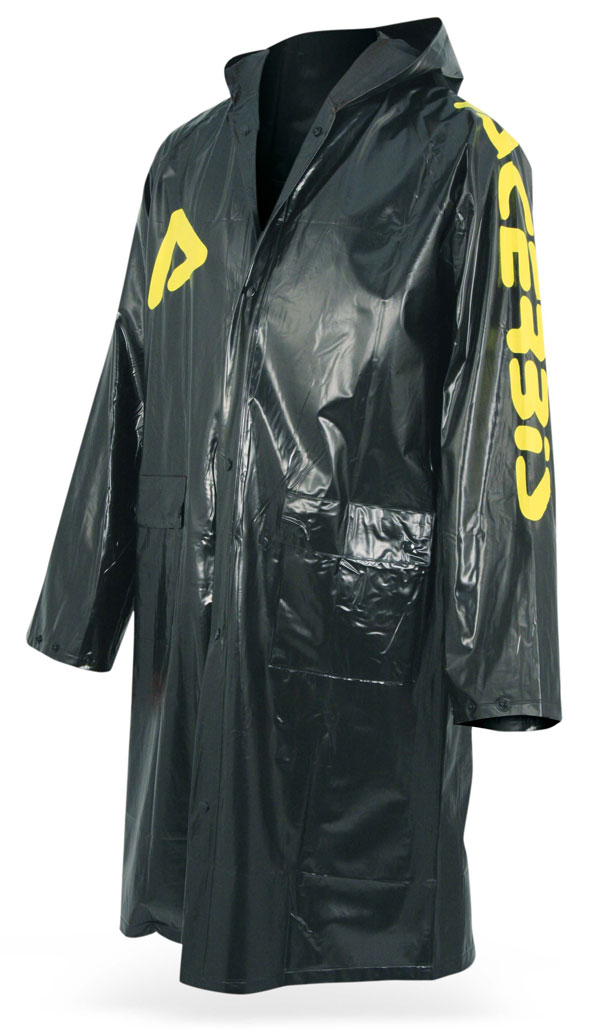 No Rain Acerbis waterproof long jacket Yellow