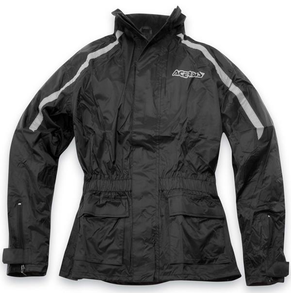 Rain-piece suit Acerbis X-Mat Black Rain