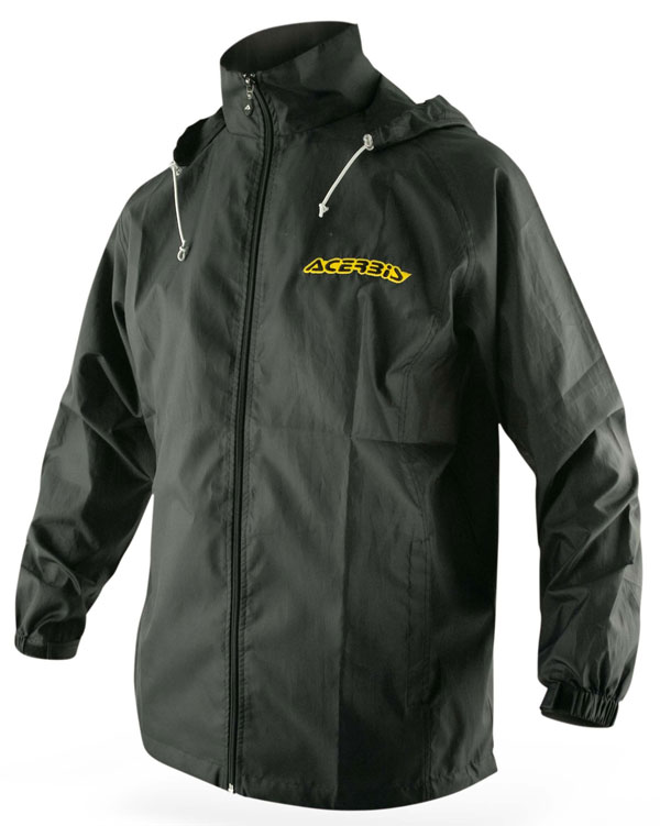 Raincoat Acerbis Black