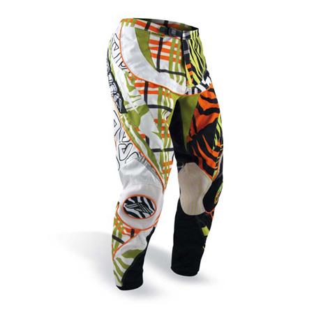 Pantaloni cross bambino Acerbis Zeboo Arancio Verde