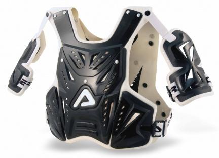 Pettorina motocross Acerbis Infinity Nero