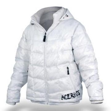 Motorcycle jacket woman Acerbis Nano White Lady