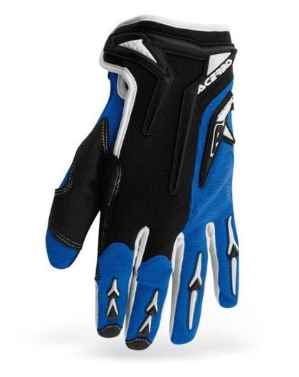 Acerbis Motobrand kid cross gloves Blue