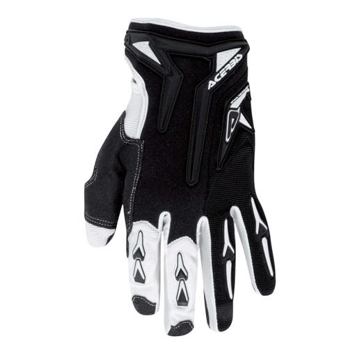 Acerbis Motobrand kid cross gloves Black