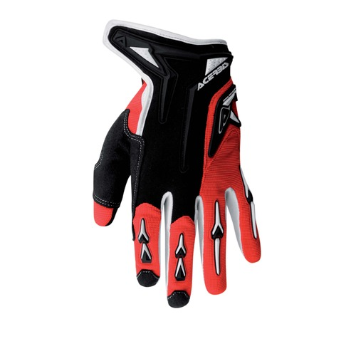 Acerbis Motobrand kid cross gloves Red