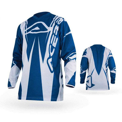 Maglia Motocross Acerbis Motobrand Blu