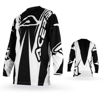 Maglia Motocross Acerbis Motobrand Nero