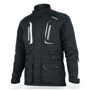 Motorcycle jacket Acerbis Korp Poway Big Boy Black
