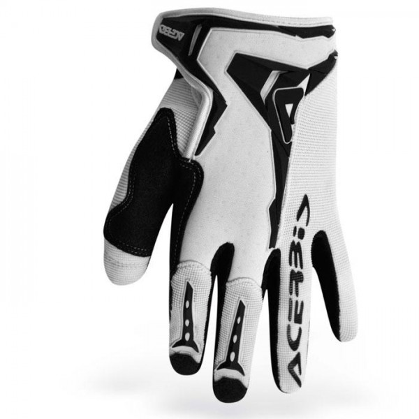 Gloves Acerbis Motocross Mx-x1 White