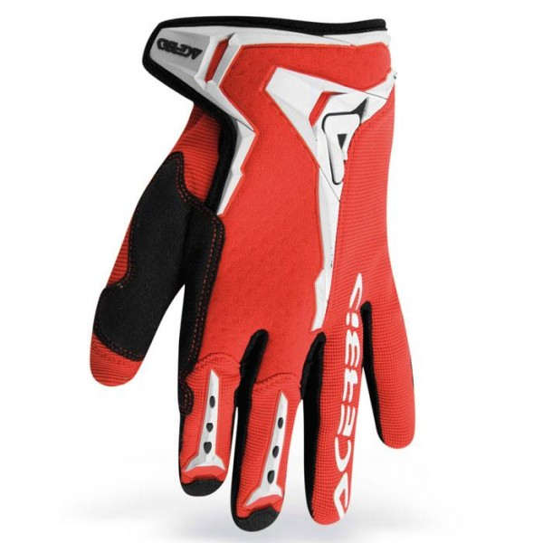 Gloves Acerbis Motocross Mx-x1 Red