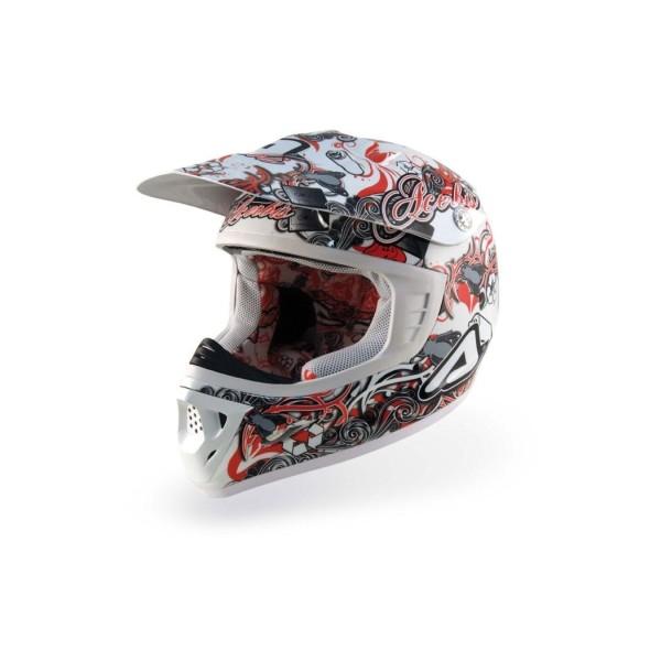 Casco motocross bambino Acerbis Graffex JR