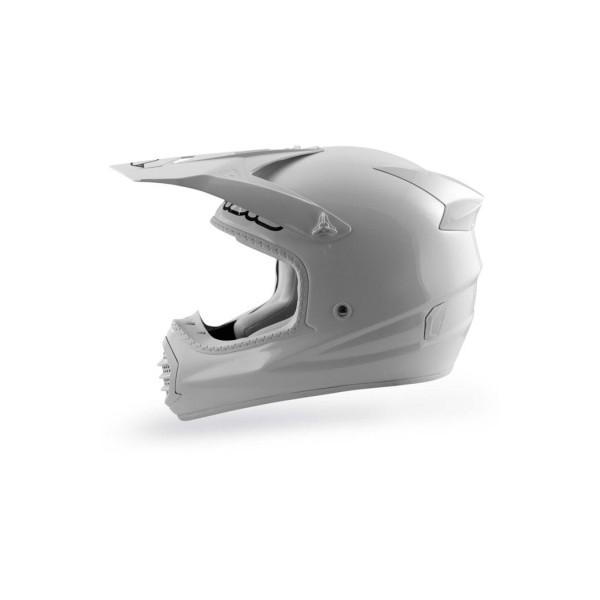 Casco motocross Acerbis Fiber Full White
