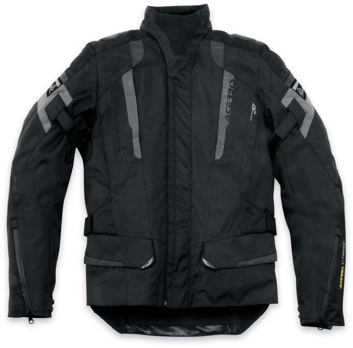 Acerbis Motorcycle Jacket Black Highlander