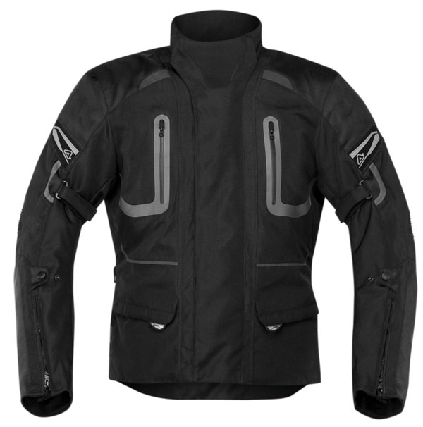 Motorcycle jacket Black Acerbis Ramsey