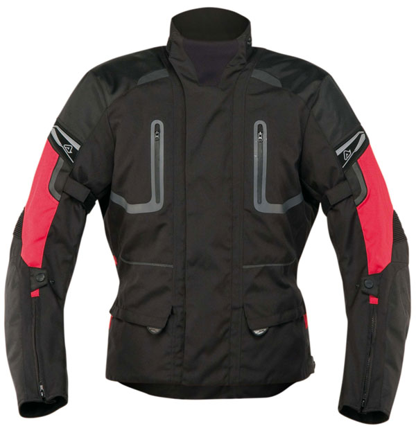 Motorcycle jacket Acerbis Ramsey Red