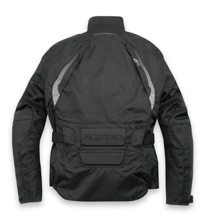 Motorcycle jacket Black Acerbis Bray Hill