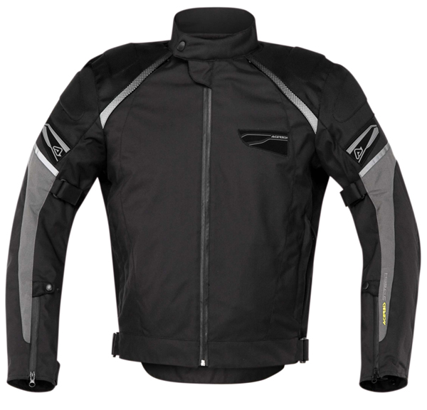 Motorcycle jacket Acerbis St John Black