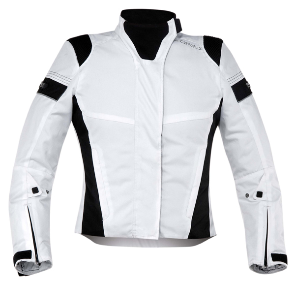 Giacca moto donna Acerbis Castletown Lady Bianco