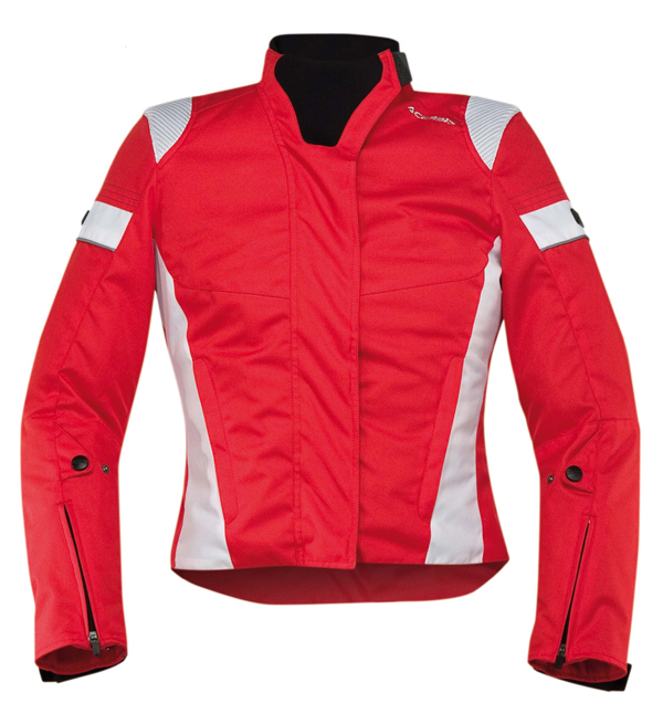 Motorcycle jacket woman Acerbis Red Lady Castletown